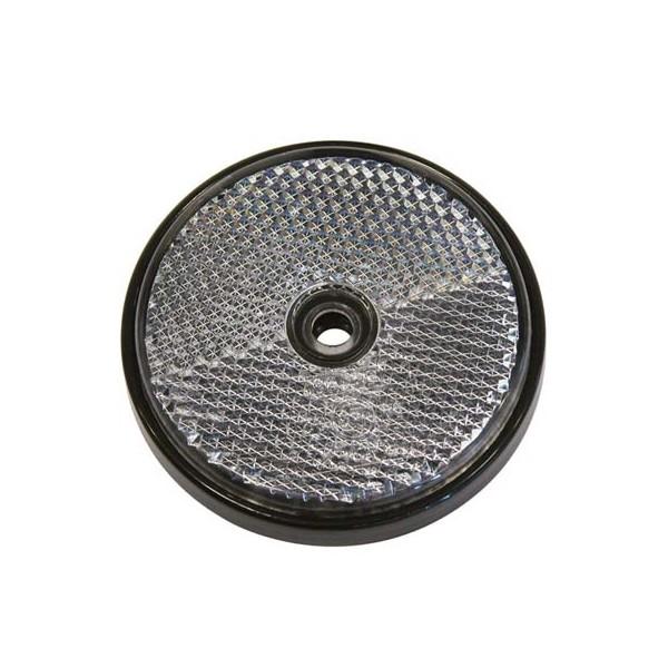 Reflector rond 70mm wit bulk
