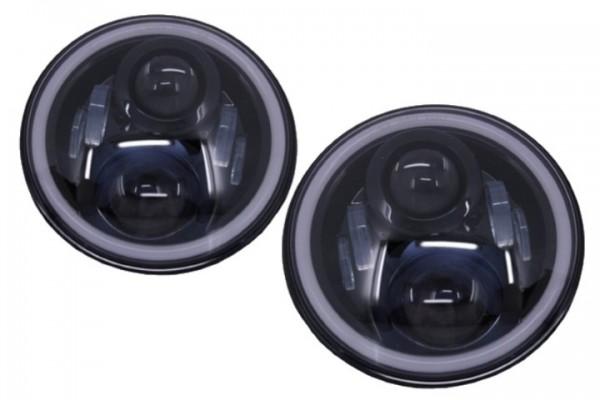 Koplampen VW Golf I / II / Kafer / Jeep Wrangler / Defender Full LED