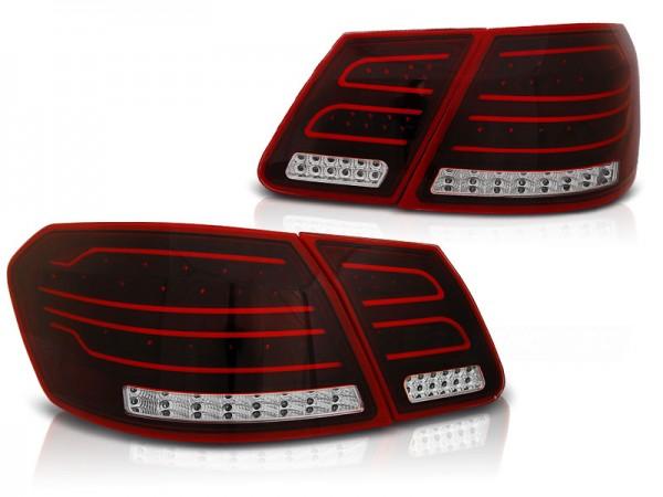 Achterlichten Mercedes E-classe W212 09-13 Rood/wit LED