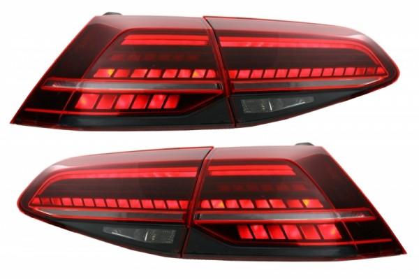 Achterlichten VW Golf VII Dynamic Facelift LED Cherry (Golf 7 & 7.5)