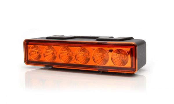 LED Zwaailicht Oranje 12V-24V IP68 ECE SEA/DOT