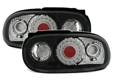 Achterlichten Mazda MX-5 (Typ NB) Bj. 98-05 LED zwart